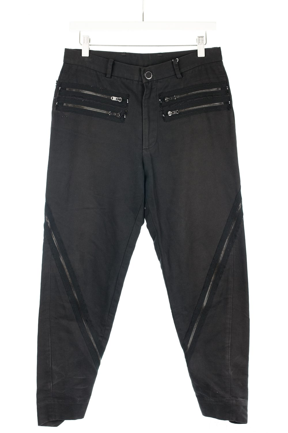 Tapered Zipper Pants