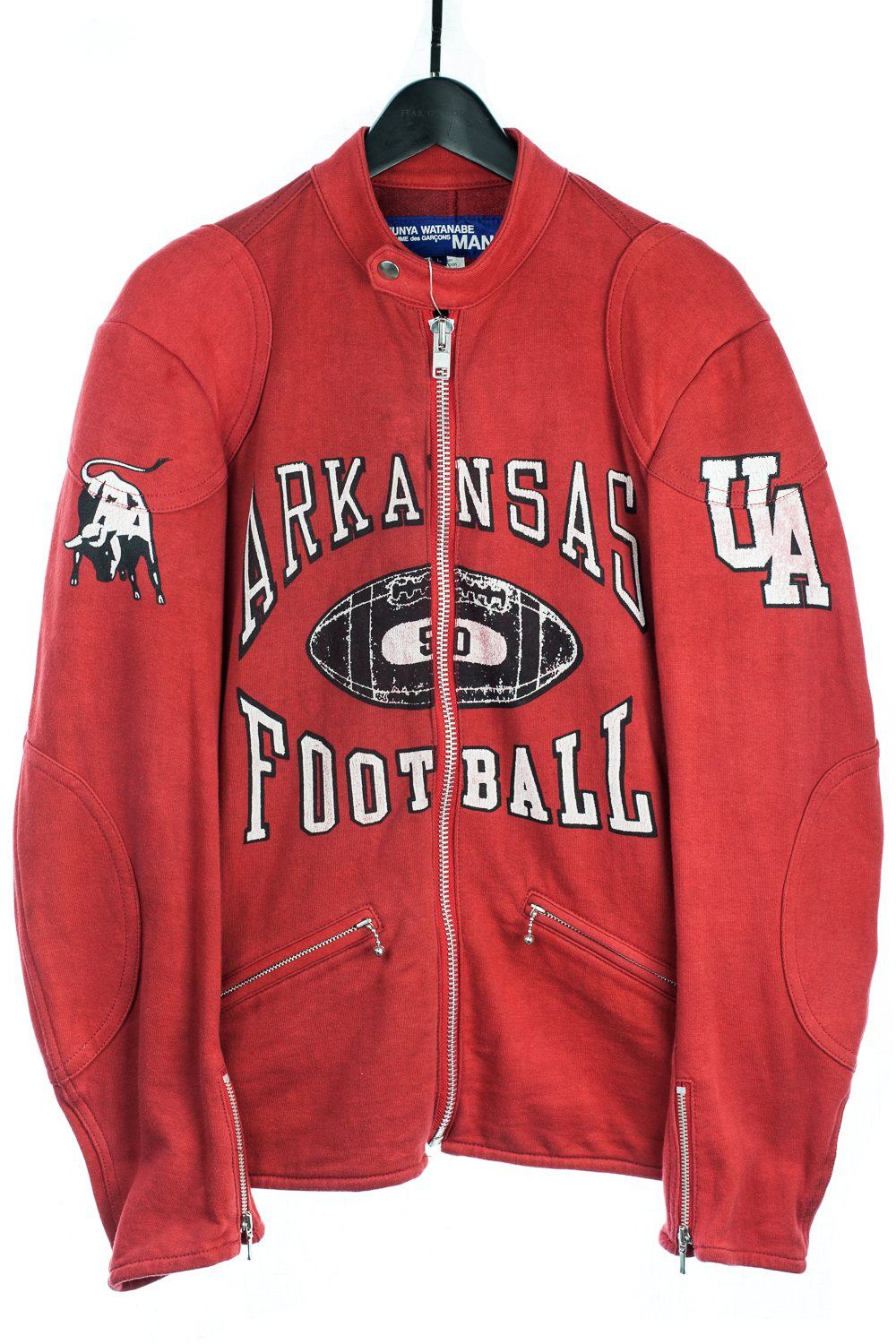 SS06 Arkansas Football Varsity Moto Jacket