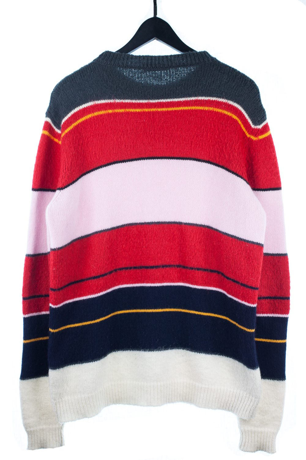 FW13 Border KnitCrewneck Sweater