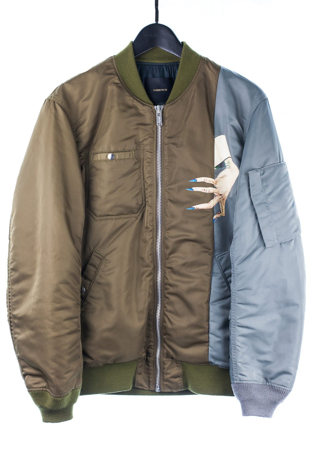 "FW15 ""No (B)orders"" D-Hand Ma-1 Bomber"