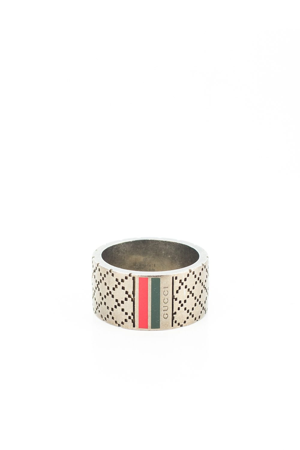 Patterned Stripe Ring