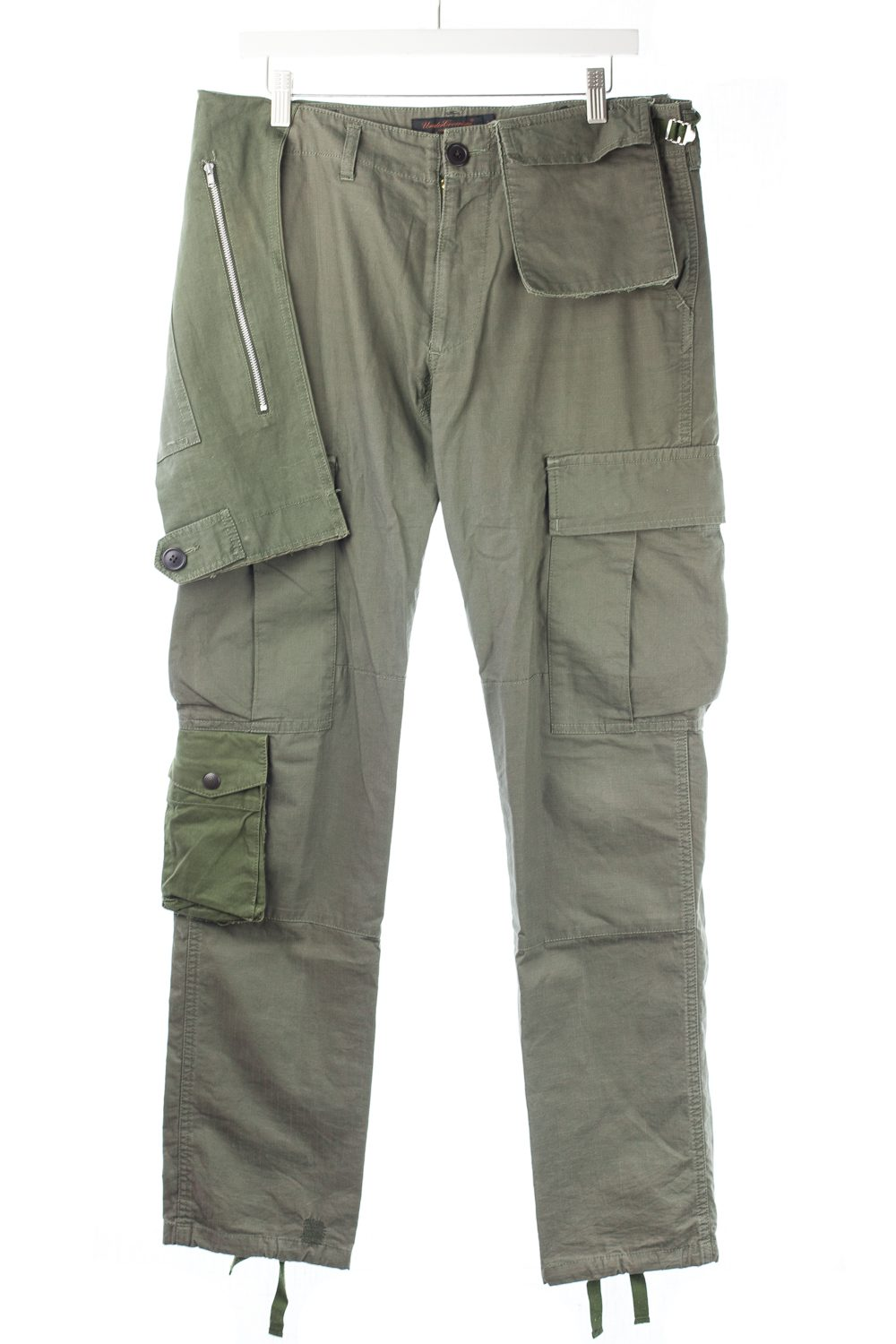 "FW03 ""Paper Doll"" Reconstructed Military Cargo Pants"