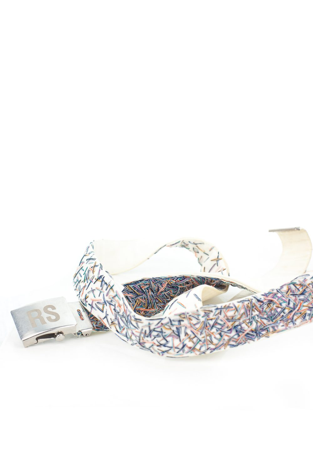 SS09 Gradient Stitch Confetti Belt