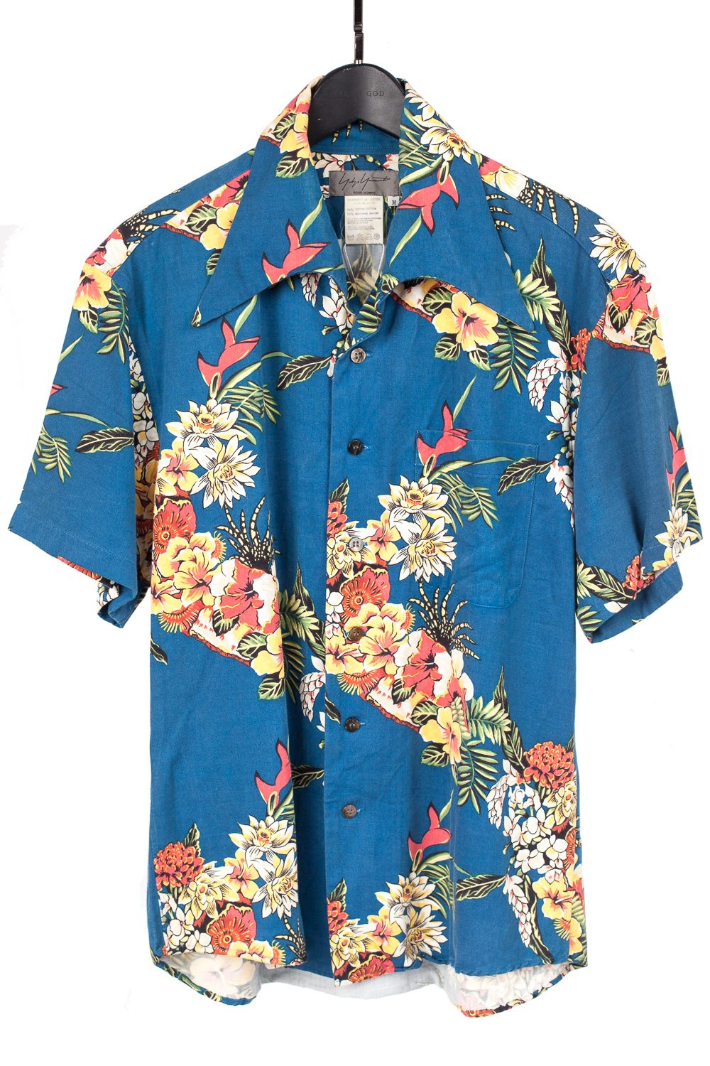 SS97 Floral Rayon/Cotton Hawaiin