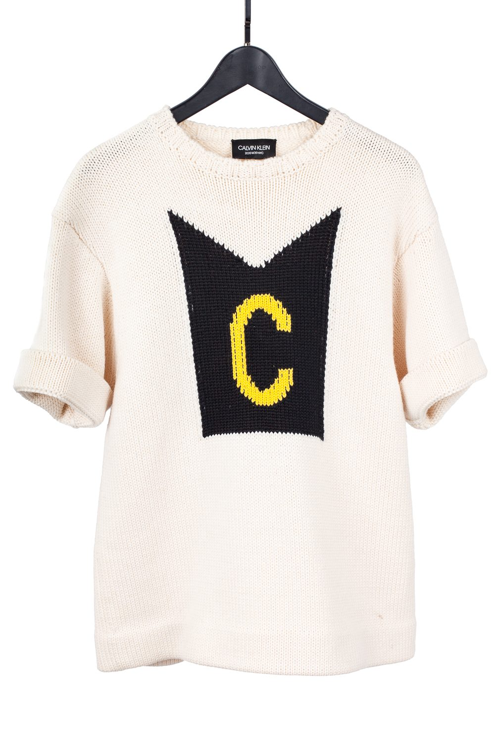 "Sample Knit ""C"" Crewneck"