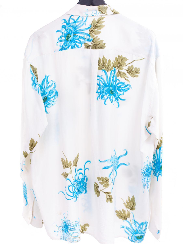Rayon/Silk Floral Shirt