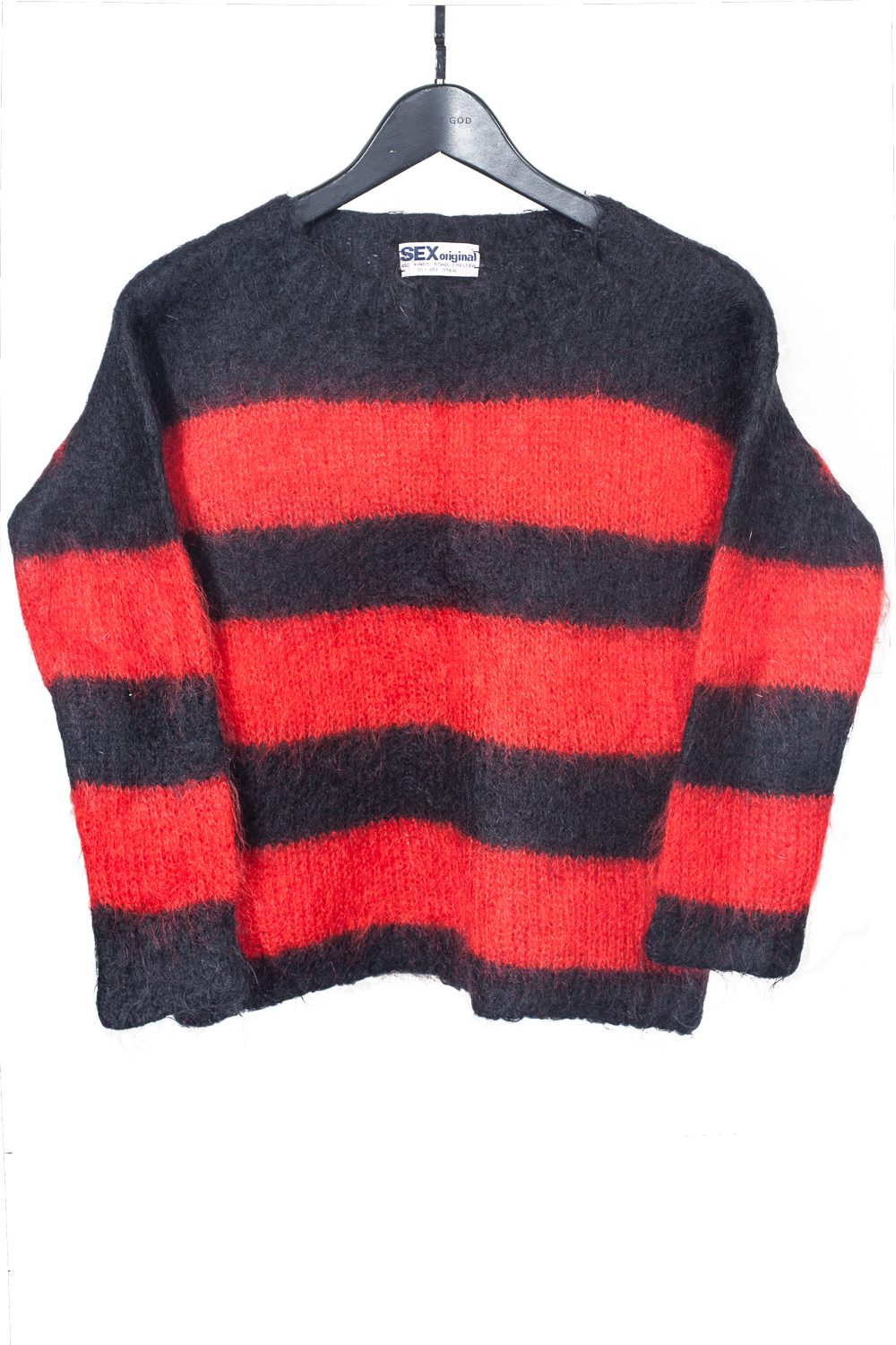 """SEX"" 70's Striped Mohair"