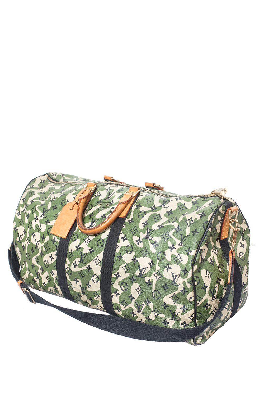 Murakami x LV 55 Monogramouflage Keepall