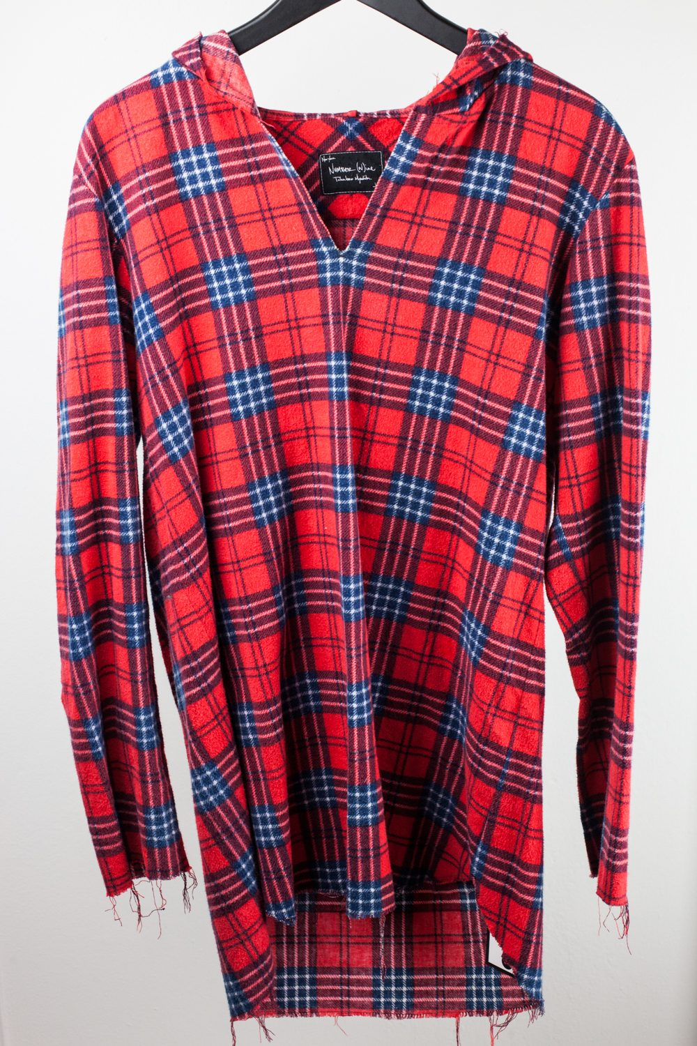 FW06 Plaid Flannel Pullover