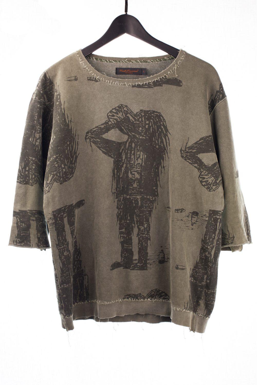 "03 ""Scab"" Half Sleeved Light Sweatshirt"