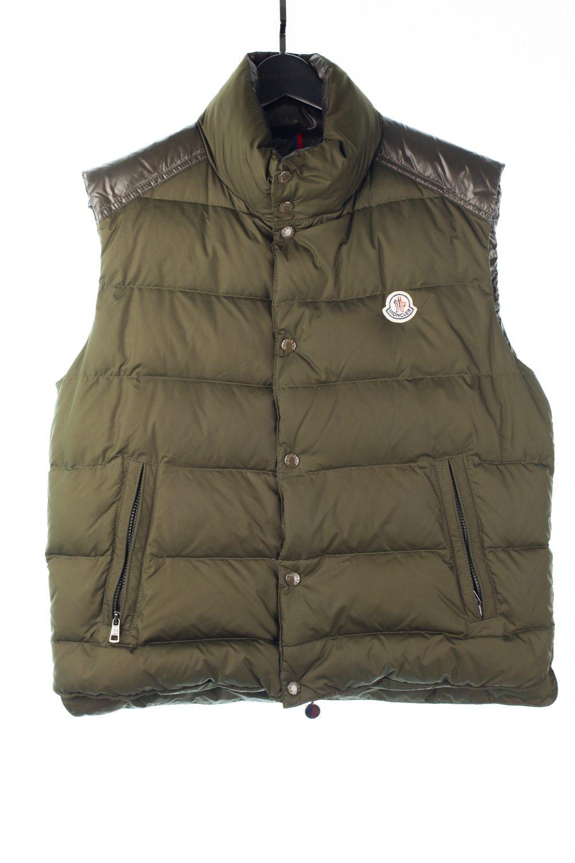 Moncler Moss Green Puffer Vest