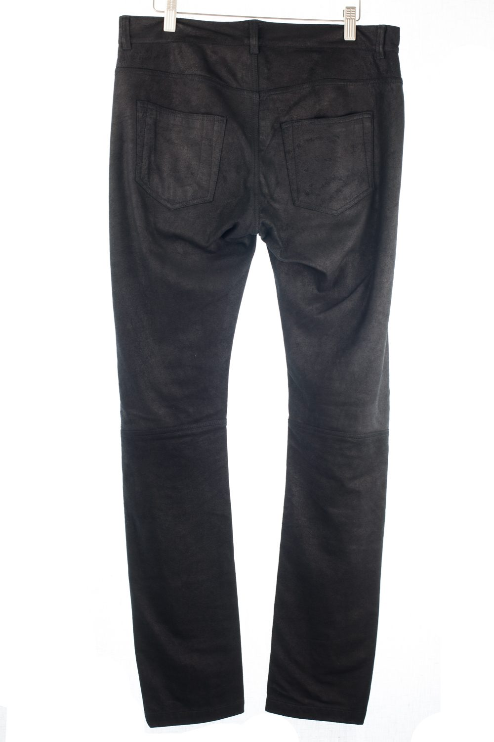 Fw14 Moody Leather/Cotton Blend Pants