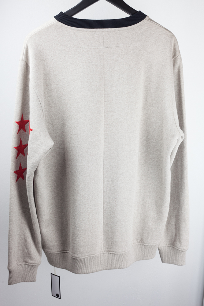 FW12 Stars and Stripes Applique Sweater