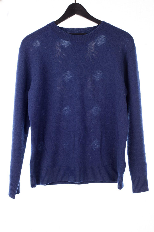 "FW15 Back ""Hand"" Wool Sweater"