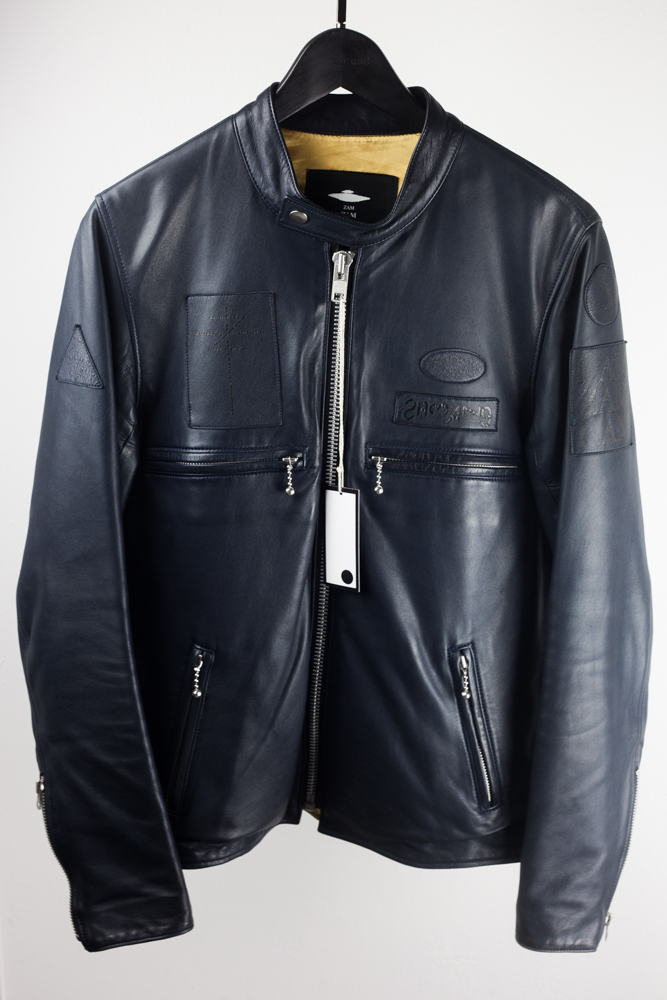 bbe6c8794 Zamiang Calf Leather Jacket