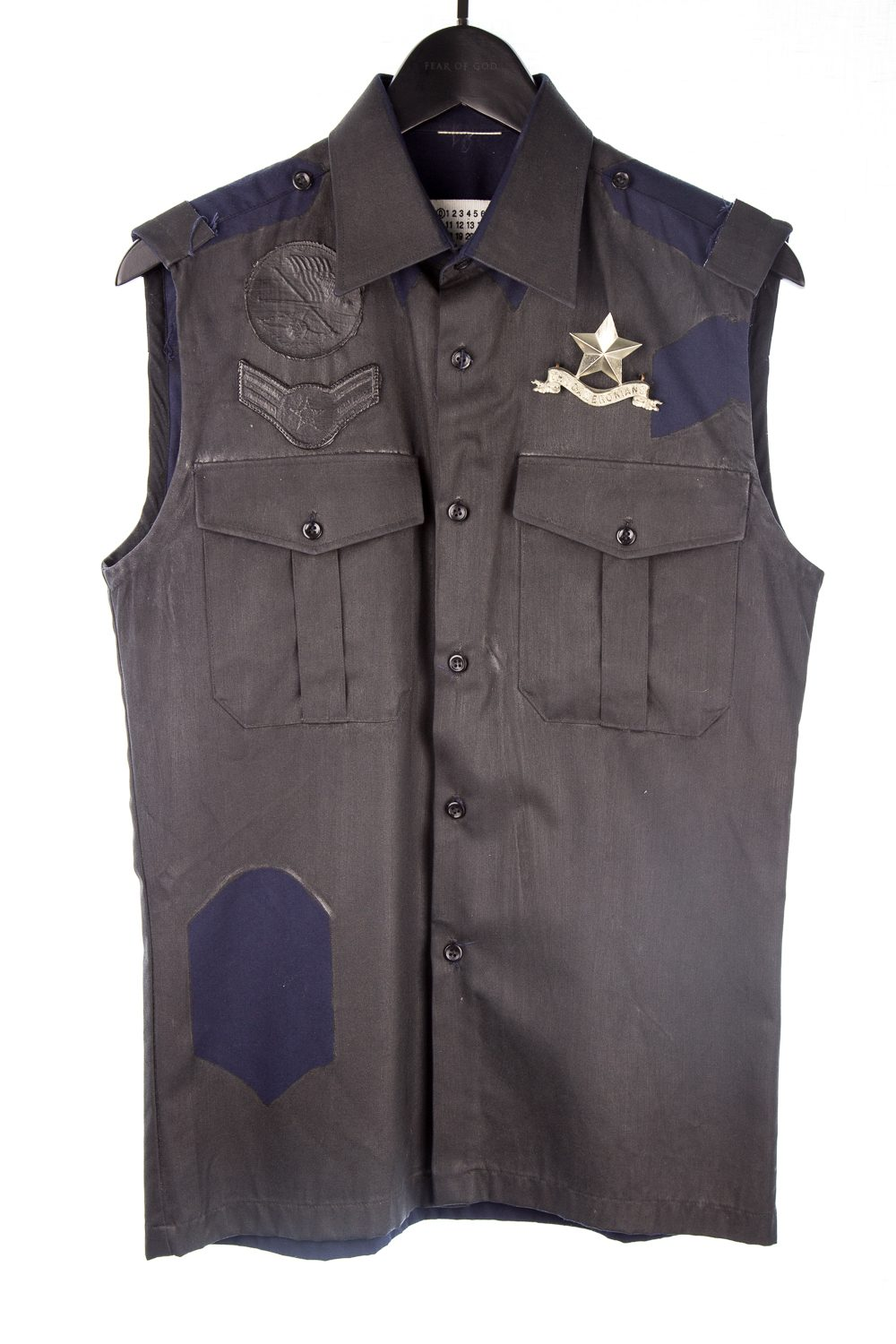 "010 Artisanal ""The Cameronians"" Vest"