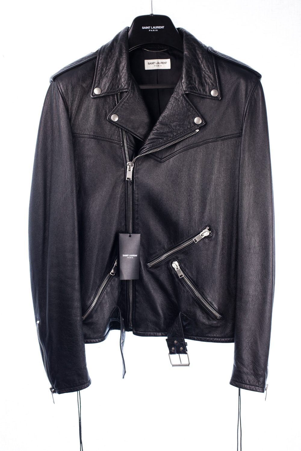 NWT SS16 Lace Up Motorcycle Jacket