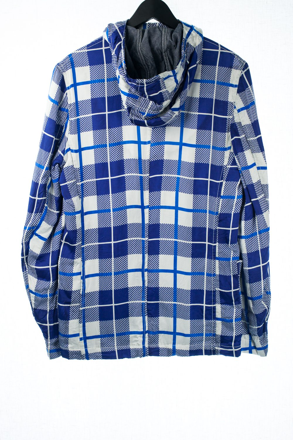 """""""Shirt"""" Oxford Cotton Lined Jacket"""