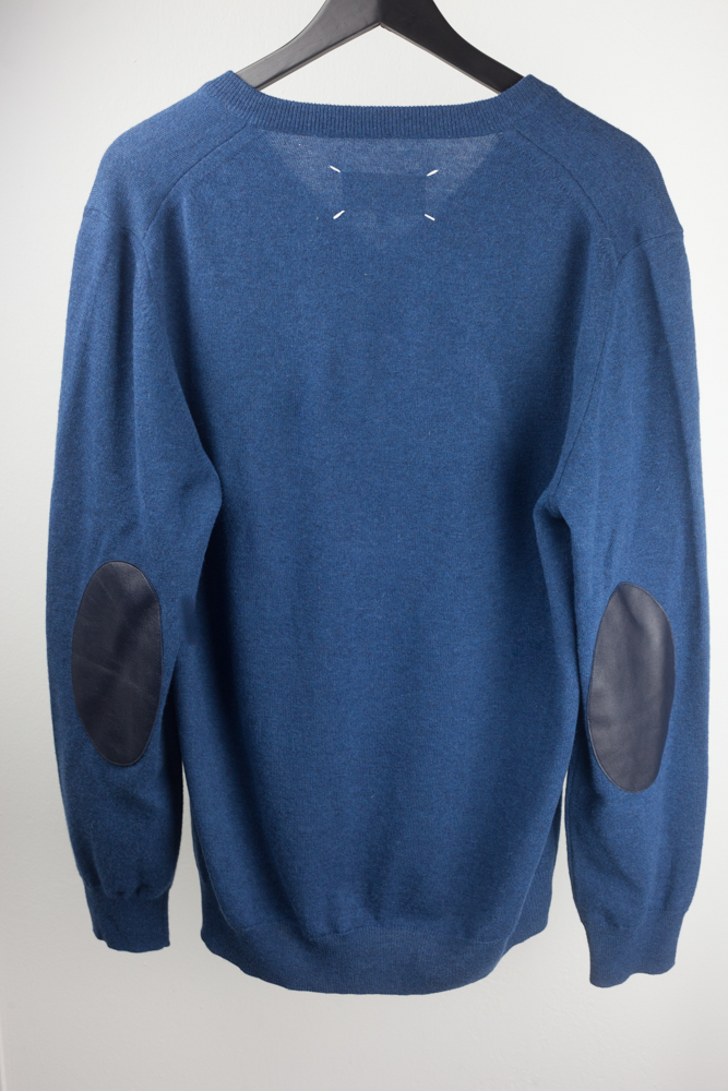 Line 14 Pullover with Calf Elbow Patches