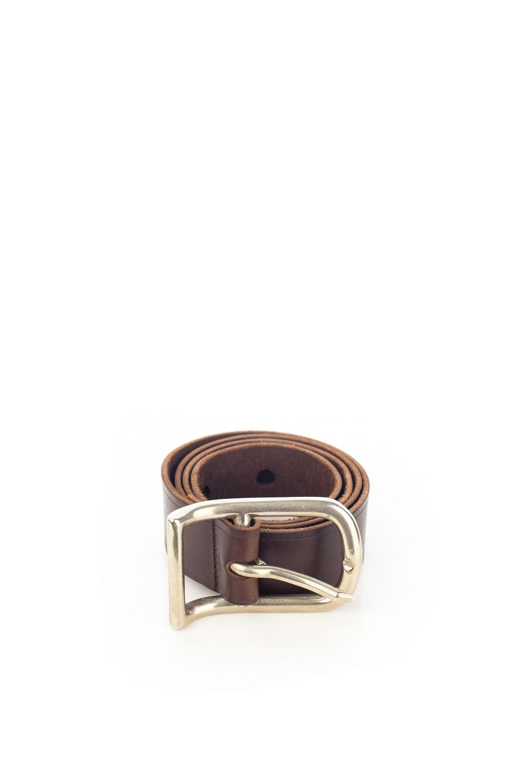 "Artisanal ""0 10"" Oversized Belt"