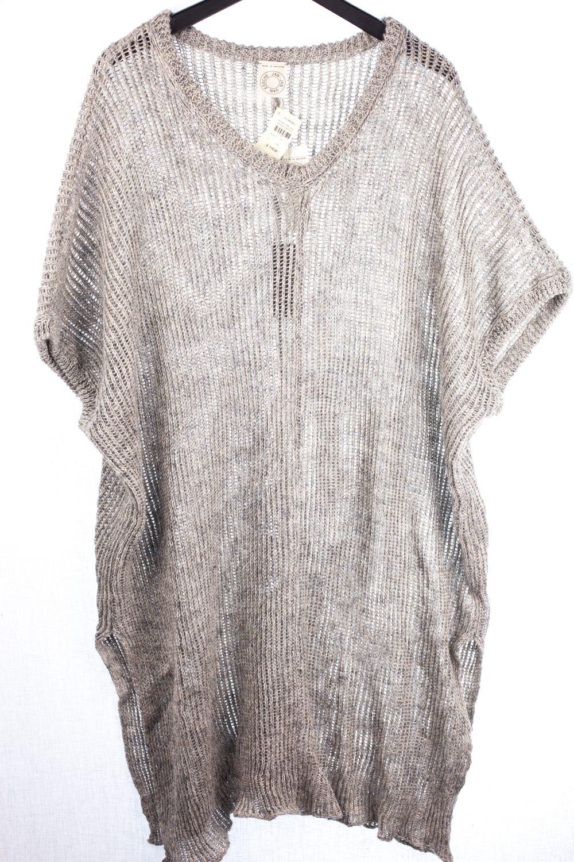 NWT Oversized Knit Sweat T-Shirt
