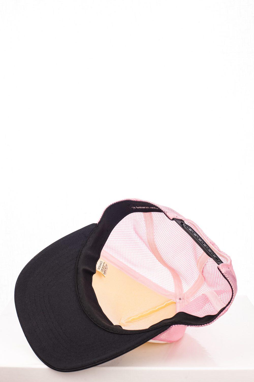 06 Logo Pink/White Swarovski Trucker Hat