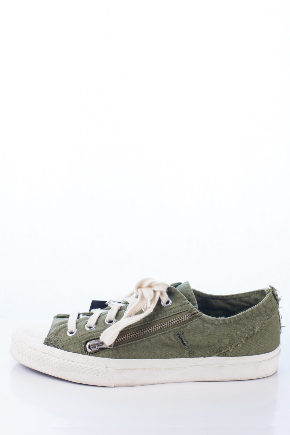 """Frayed Edge """"Taxi Driver"""" Sneakers"""