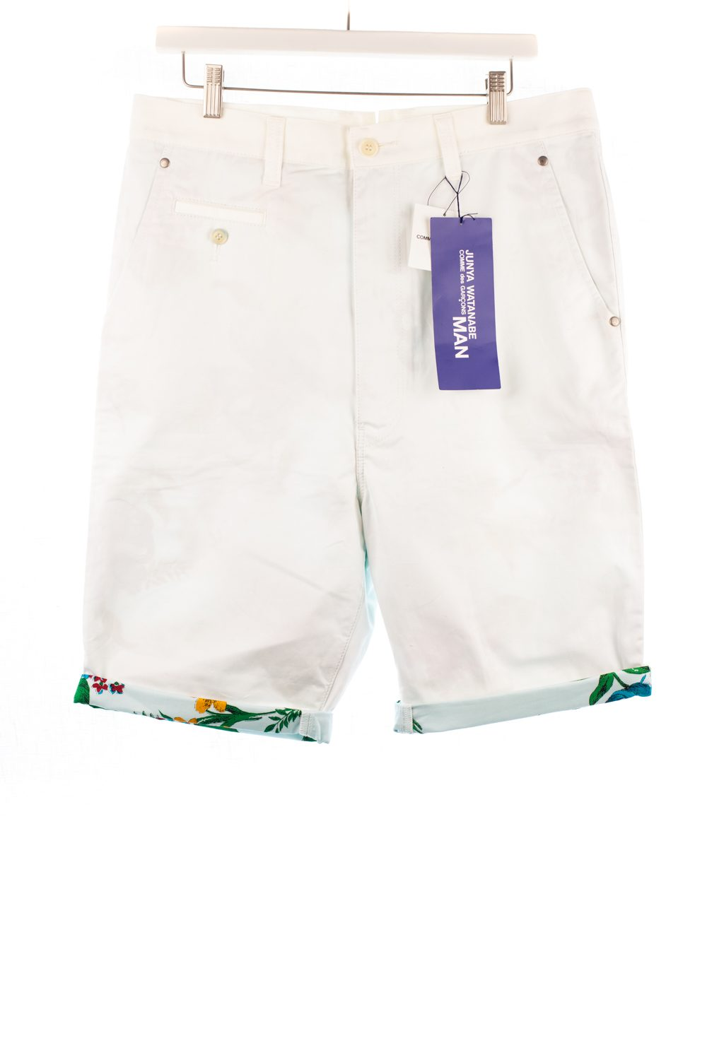 """NWT SS14 Floral Lined """"Work"""" Shorts"""
