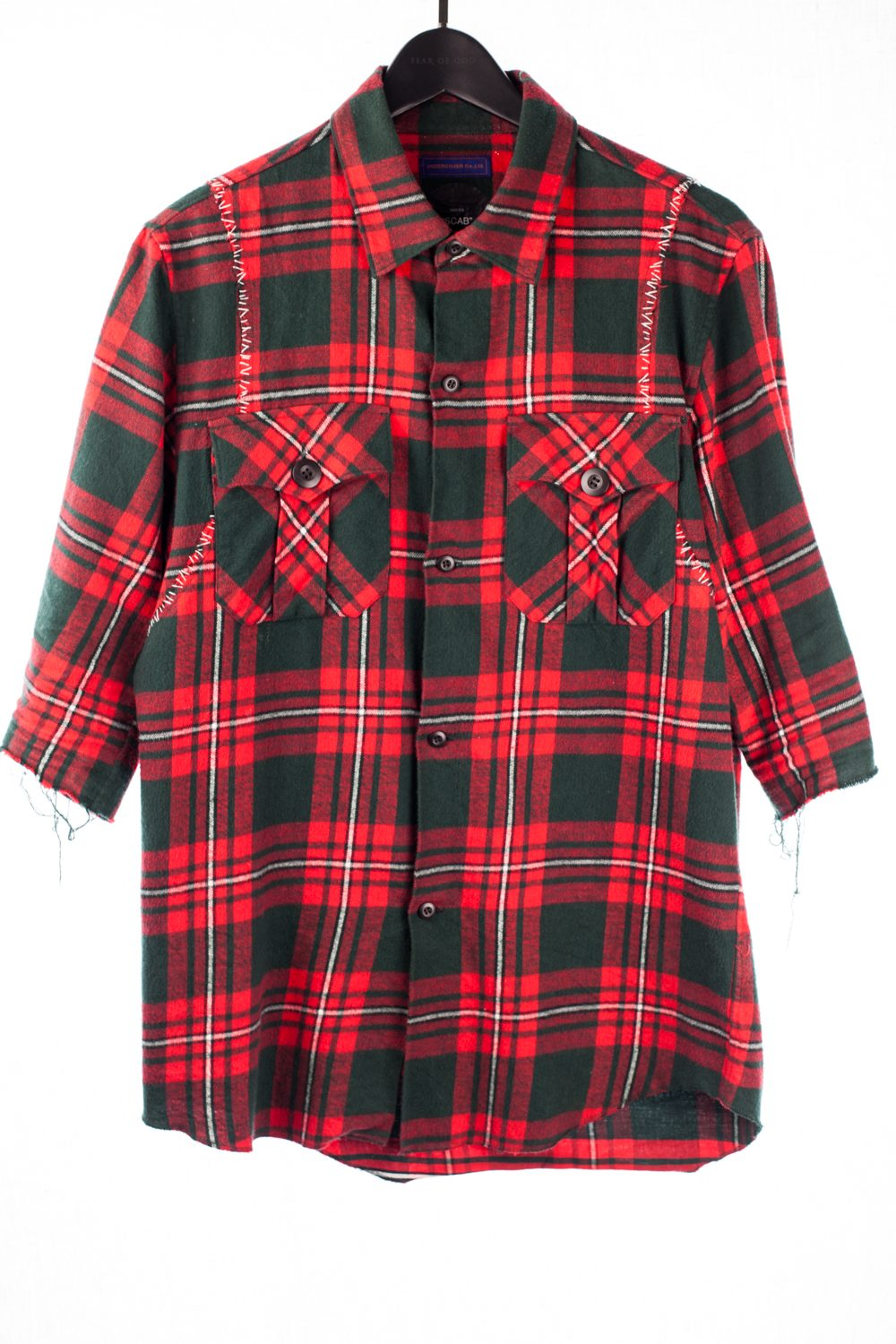 """SS16 """"Scab"""" Joy Division """"This Is The Way Step Inside"""" Flannel"""