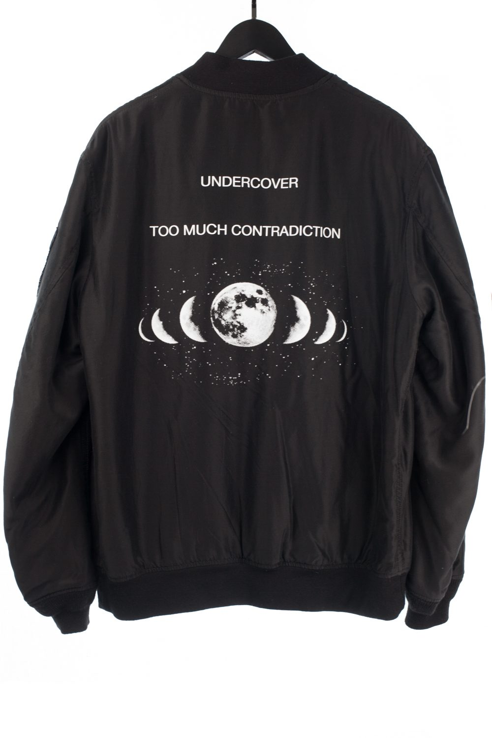 """NWT SS15 Silk """"Too Much Contradiction"""" Bomber"""