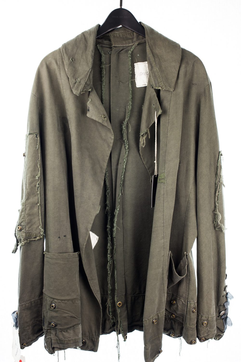 """FW13 Army Tent """"Spine"""" Jacket"""