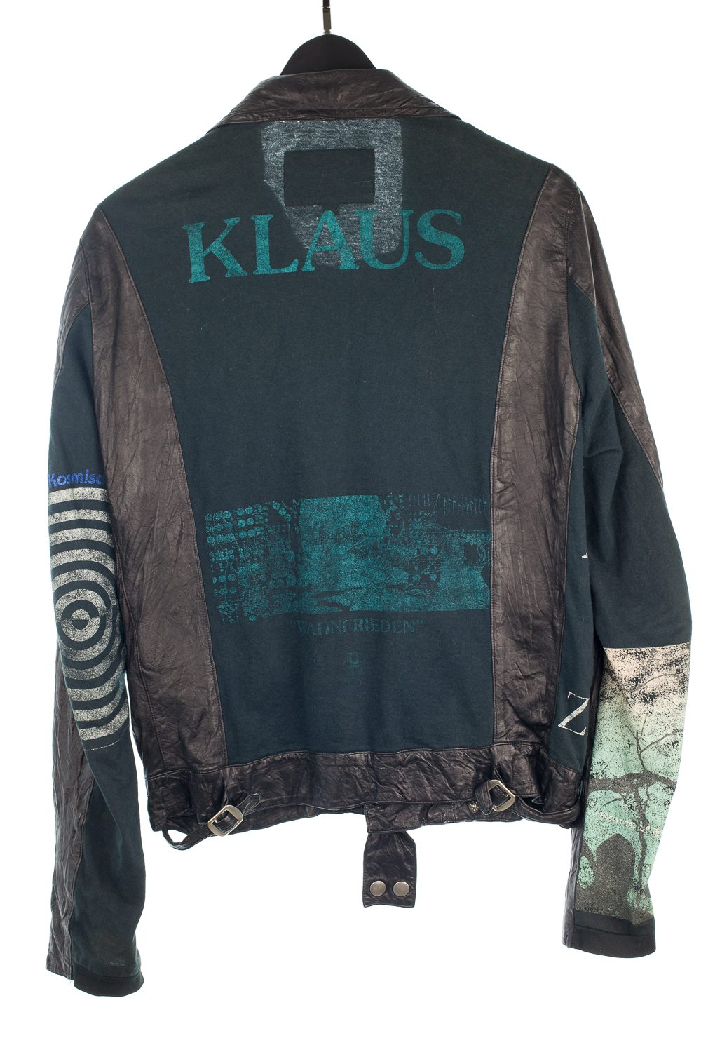 SS06 Klaus/Zamiang Reconstructed Leather Jacket