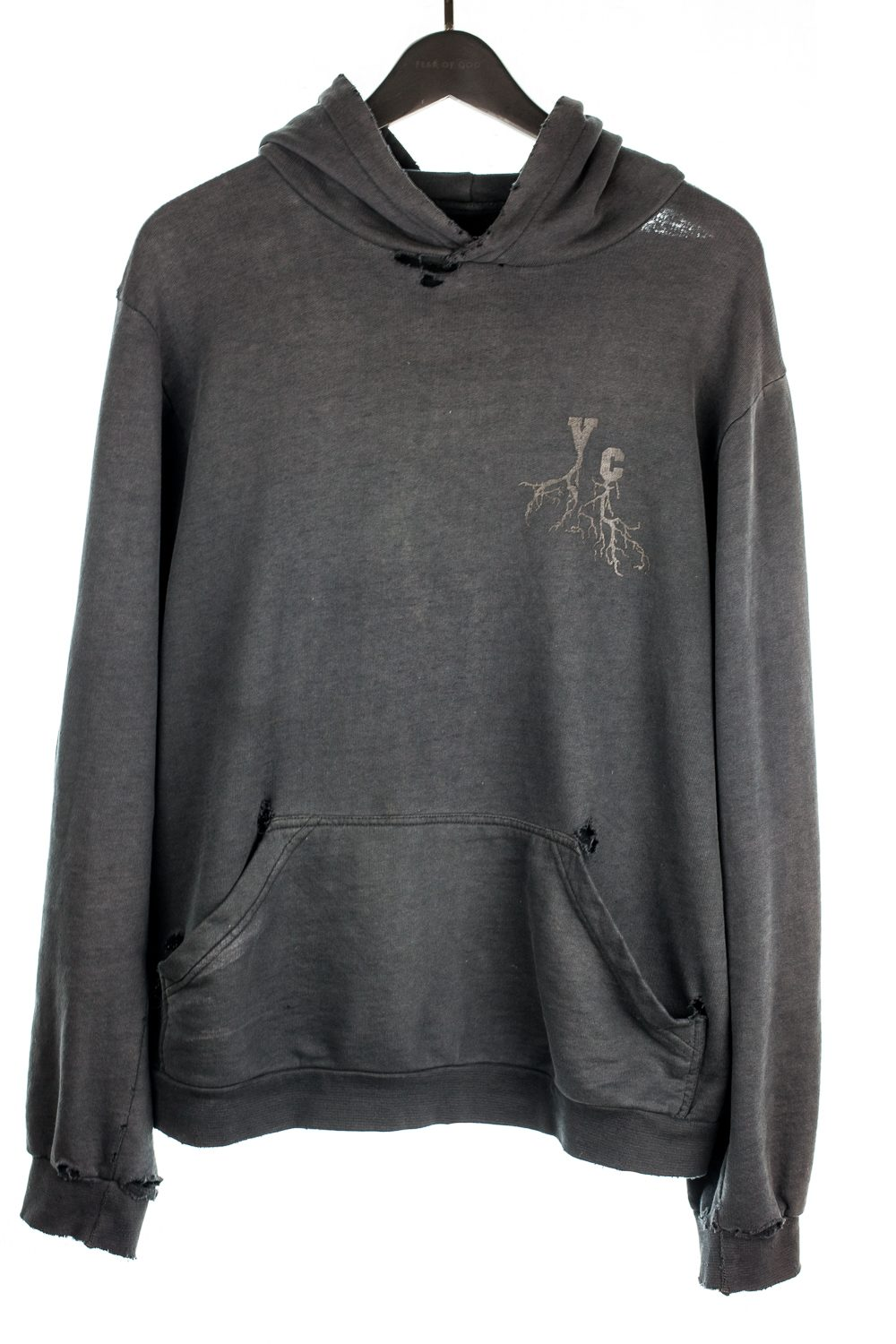 "AW02 ""Virginia Creeper"" Roots Hoodie (Grey)"