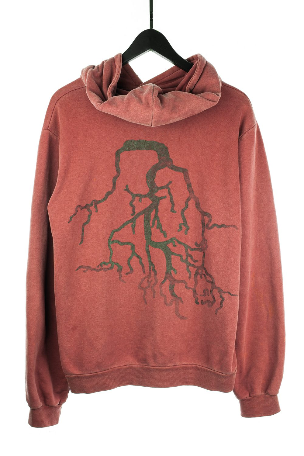 "AW02 ""Virginia Creeper"" Roots Hoodie (Wine)"