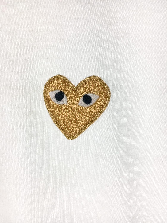 """""""Play"""" Gold Heart Shirt"""