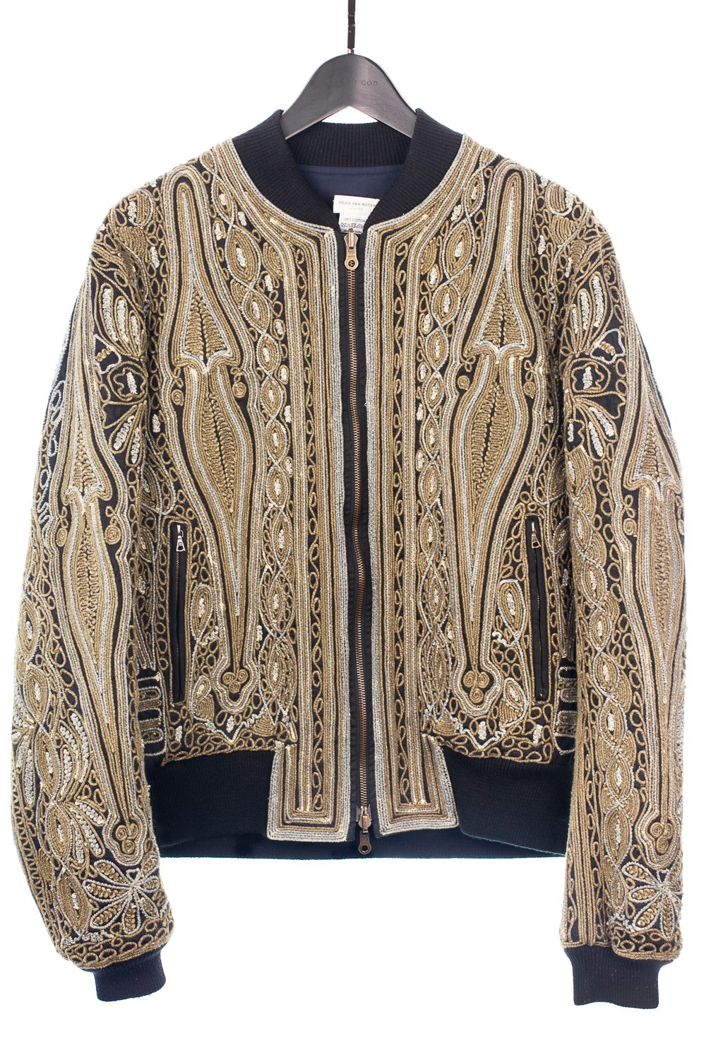 SS15 Rope Embroidered Reversible Bomber