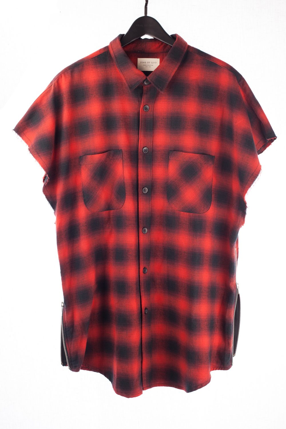 Maxfield Exclusive Sleeveless Flannel
