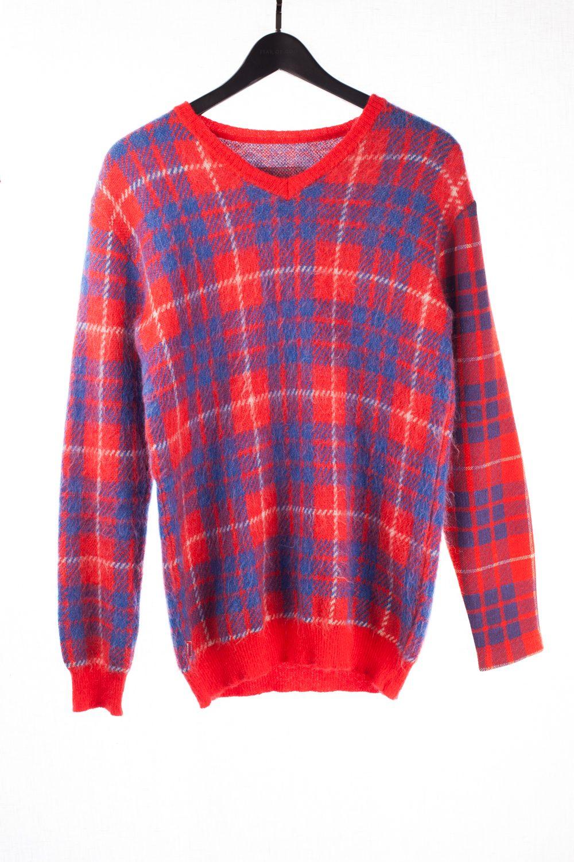 "FW00 ""Melting Pot"" 3/4 Mohair Sweater"
